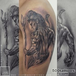 Lord Shiva Tattoo #39The Lord is Back#39 series by Eric Jason D#39souza _10