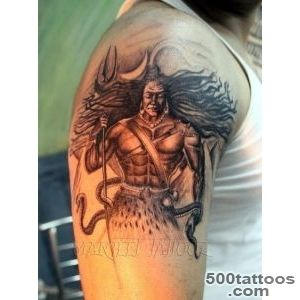 Pin Lord Shiva Angry Tattoo Man On Back on Pinterest_9