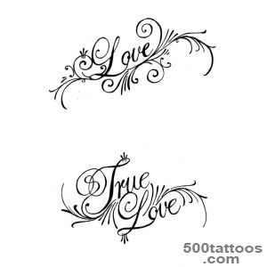 16+ Love Tattoo Designs_34