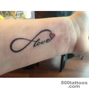 40+ Love Tattoos On Wrists_33