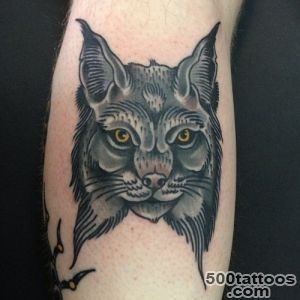 Lynx tattoo design, idea, image