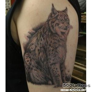 11 Lynx Tattoo Images, Pictures And Ideas_24