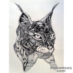 Lynx Tattoo Images amp Designs_29