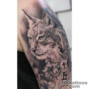 Lynx Tattoo On Half Sleeve by Tuomaskoivurinne_25
