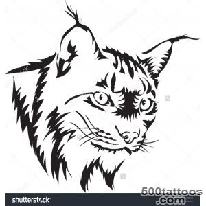 Tattoo Vector Of Lynx   175208012  Shutterstock_42