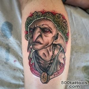 145 Most Magical Harry Potter Tattoos You#39ll Want to See_48