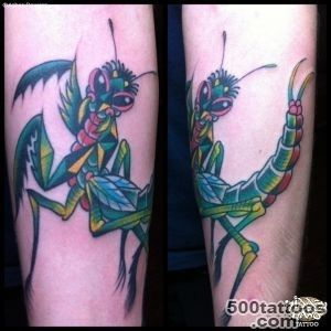 Mantis   Hidden Hand Tattoo Seattle, WA_40JPG