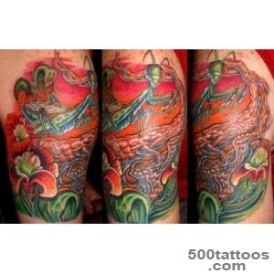 Pin Orchid Preying Mantis Tattoo Pictures on Pinterest_19