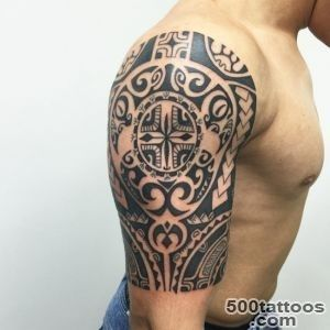 25 Best Maori Tattoo Designs   Strong Tribal Pattern_2