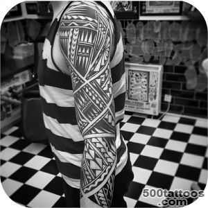 Maori Tattoo Sleeve  Best Tattoo Ideas Gallery_46