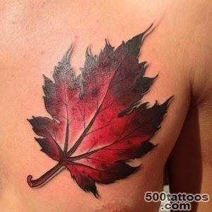 21 Latest Leaf Tattoo Images And Designs_3