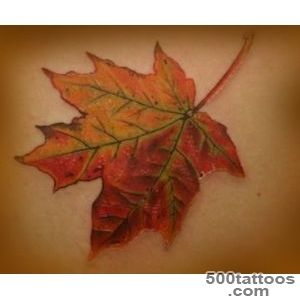 1000+ images about Tattoos on Pinterest  Maple Leaf Tattoos, Leaf _22