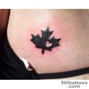 Fleur de lisMaple Leaf  Tattoos  Pinterest  Leaves_50