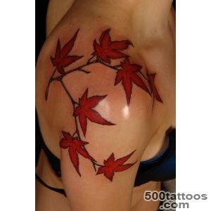 Leaf Tattoos and Designs Page 2_42