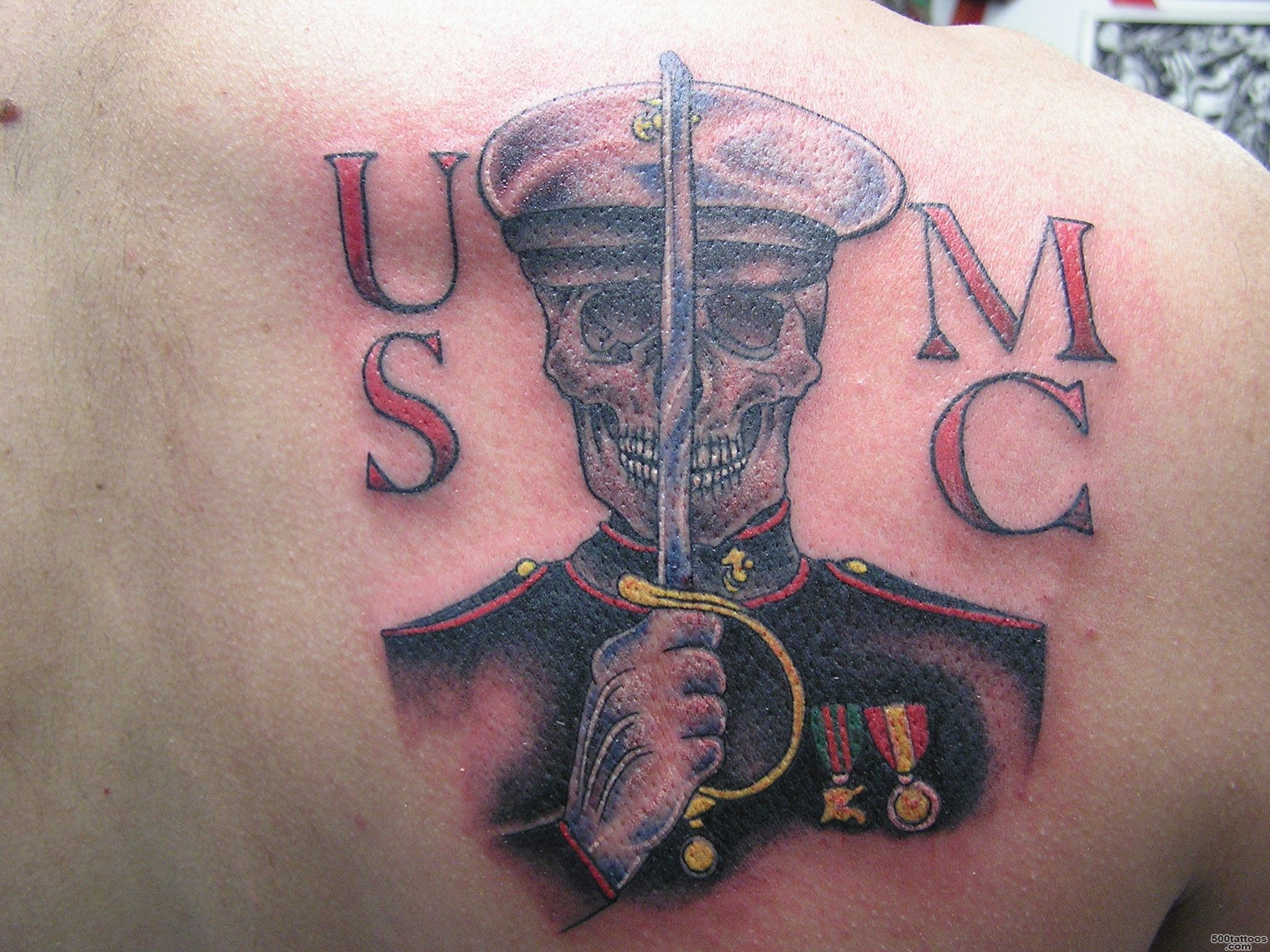 Pin Pin Marine Corps Scout Sniper Tattoo On Pinterest on Pinterest_14