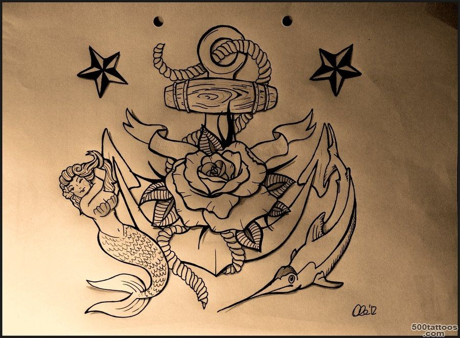 Top Old Marine Tattoo Images for Pinterest Tattoos_26