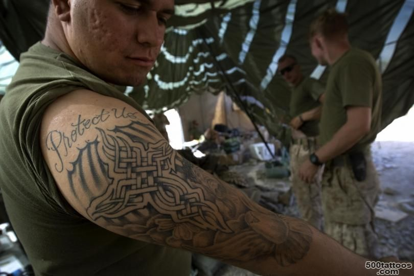 US Marines Tattoo Policy 2016 Rules And Regulations Tighten For ..._38
