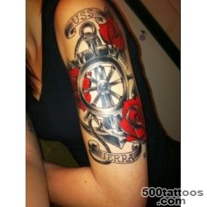 100 Cool Nautical Tattoo Ideas for Sea Lovers_18