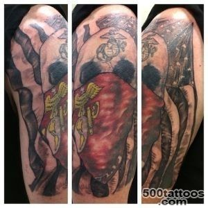 Devil Dog Ink 104 Insanely Dope Marine Corps Tattoos   TattooBlend_44