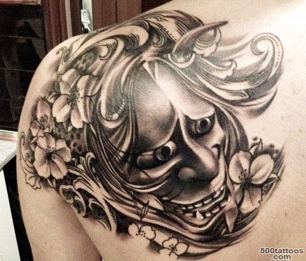 Mask Tattoo Images amp Designs_2
