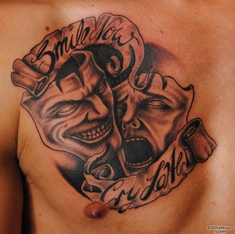 Mask Tattoos, Designs And Ideas  Page 43_10