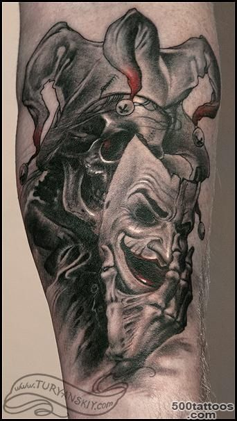 Mask Tattoos, Designs And Ideas  Page 97_1