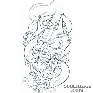 1000+ ideas about Samurai Mask Tattoo on Pinterest  Mask Tattoo _21