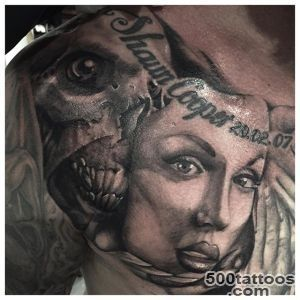 Mask Tattoo  Best Design Tattoo_9