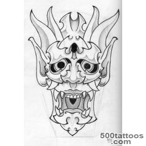 Mask Tattoos, Designs And Ideas  Page 32_50