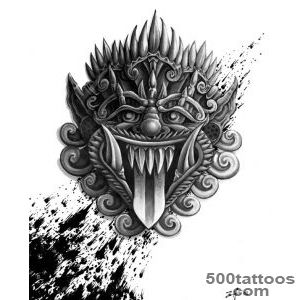 Mask Tattoos, Designs And Ideas  Page 92_17