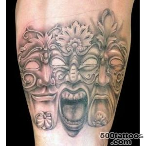 Pin Venetian Mask Tattoo Designs On Pinterest 18