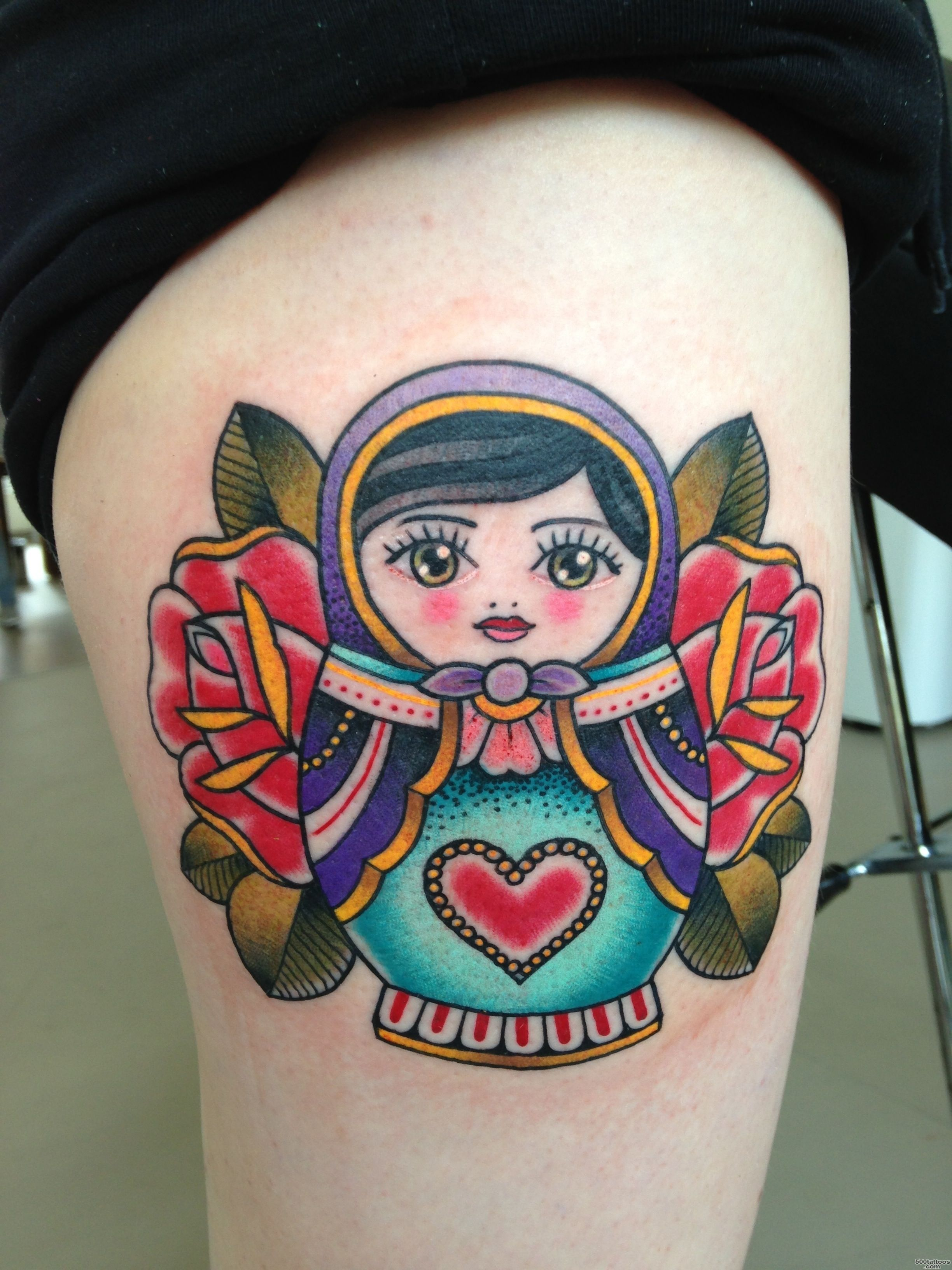 80+ Cool Matryoshka Tattoos_4