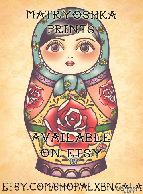 Matryoshka Tattoos, Designs And Ideas  Page 14_23