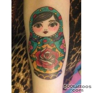 Matryoshka Tattoos, Designs And Ideas  Page 19_12