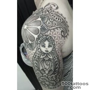 Matryoshka Tattoos, Designs And Ideas  Page 19_17