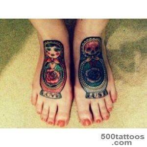 Matryoshka Tattoos, Designs And Ideas  Page 36_44