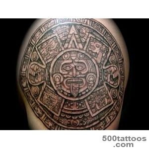 30 Perfect Mayan Tattoos   SloDive_1