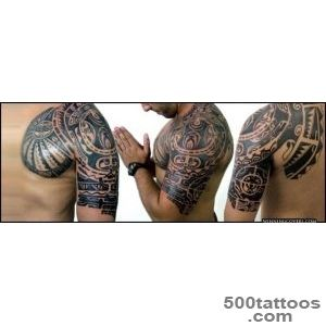 49+ Latest Mayan Tattoos_10