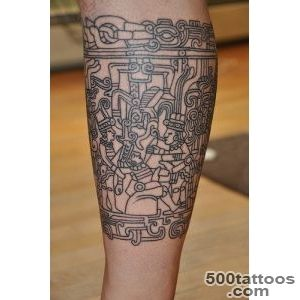 Maya Tattoo Designs Ideas Meanings Images