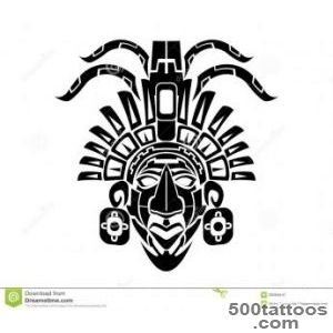 Mayan Mack Tribal Tattoo Stock Vector   Image 39394547_43
