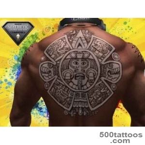 Second Life Marketplace   Tattoo Sol Maya on Torso Back_25