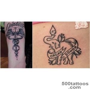 12 Medical Awareness Tattoo You Should Know About  Diply_24
