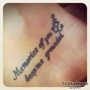 Inside-of-foot-memorial-tattoo-quotes-for-girls---Memories-of-you-_36jpg