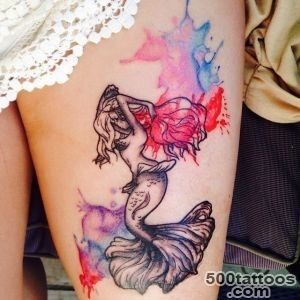 35 Creative Little Mermaid Tattoos Designs amp Meaning_38