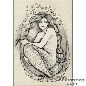 Mermaid Tattoos, Designs And Ideas  Page 9_41