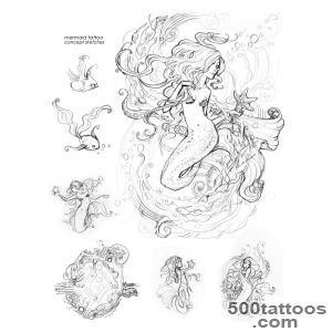 Mermaid Tattoos, Designs And Ideas  Page 10_27