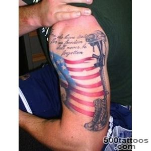 Impressive Military Tattoo On Right Muscles  Tattooshuntcom_13