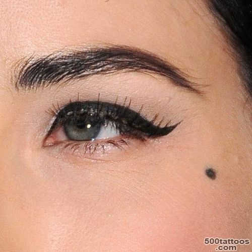 Dita Von Teese#39s Beauty Mark Face Tattoo  Steal Her Style_8