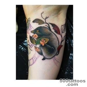 Ink It Up   Mole tattoo by Marcin Surowiec  We Heart It_1