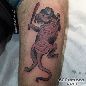 NYHC Tattoo   Naked mole rat tattoo by Sweety Follow_10